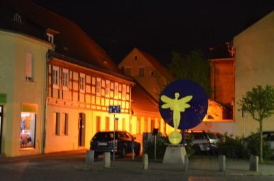 Altstadt Lübbenau bei Nacht