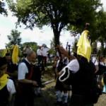 Folklore und Dudelsackspieler in Lübbenau
